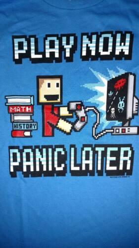 NWT Hybrid Boys/' Video Gamer// Homework// Emoji// School Shirt Size S M XL L