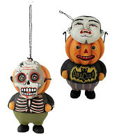 Gg2082 Pumpkinhead Trick Or Treater Ornament Bethany Lowe Halloween