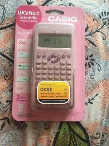 NEW-Casio-FX-83GTX-Scientific-Calculator-276-Functions-GCSE-Pink