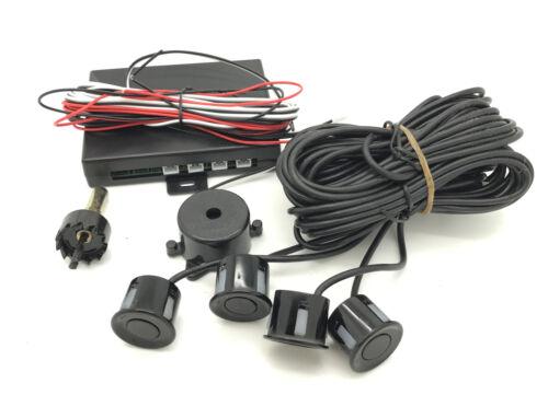 Rear 4 Point Reversing Parking Sensor Kit Buzzer For Nissan Almera Micra Note