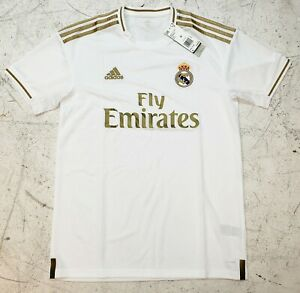 lowest price d2cd1 198b6 Details about Men's Adidas Real Madrid Home Jersey 2019/2020