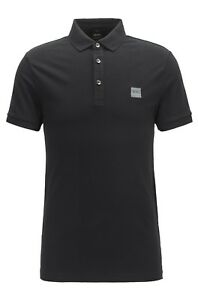 bfb6152e4 Image is loading Hugo-Boss-Mens-Casual-Passenger-Logo-Branded-Slim-