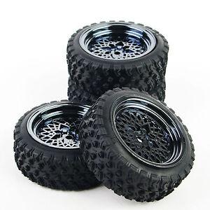 4-Pcs-RC-1-10-Off-Road-Car-Rubber-Tires-Wheel-Rim-Rally-Racing-For-HSP-HPI