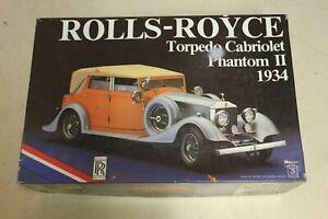 Pocher-Kit-1-8-Rolls-Royce-Torpedo-cabriolet-PHANTOM-II-1934-modele-K-75-1-8