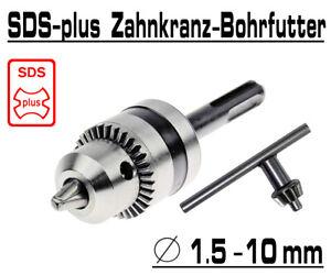 Bohrfutter Zahnkranz SDS-PLUS Spannfutter 1,5-13mm Bohrkopf Bohrmaschinenfutter
