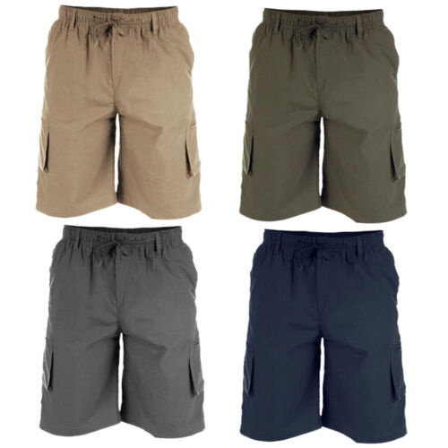 6XL Mens Quality Big Size Duke D555 Cargo Shorts 3XL
