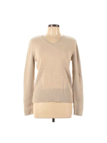 Tommy Hilfiger Women Brown Pullover Sweater L - image 1