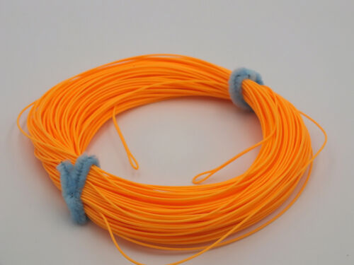 FLY LINE Weight Forward Floating 5WT Loops at each end Orange 100/' LN522