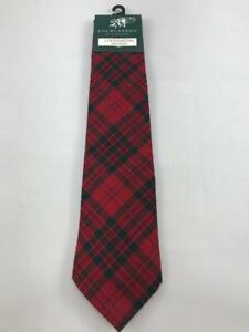 Clan Tartan Tie Cornish Hunting Modern 100/% Wool Lochcarron of Scotland New