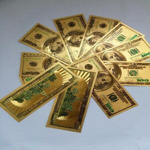 1PC-24K-Gold-Foil-Banknotes-100-Christmas-Gifts-Home-Decor-Collections