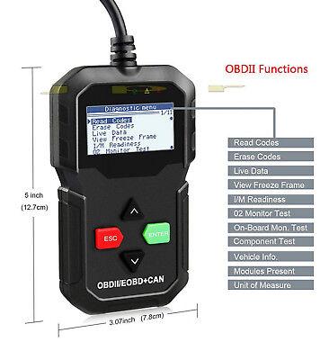CAR FAULT CODE READER ENGINE SCANNER DIAGNOSTIC RESET TOOL OBDII fits  TOYOTA | eBay