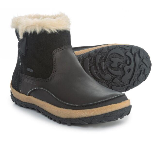 ebc2468bbd Merrell Womens/ladies Tremblant Pull on Polar Waterproof Snow BOOTS UK Size  5 (eu 38 US 7.5) Black