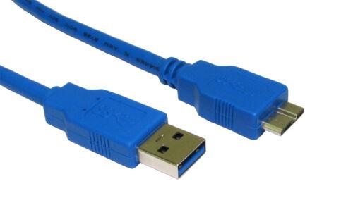USB 3.0 A à Micro B Câble pour WD Elements 2.5 Pouces Portable Disques Durs