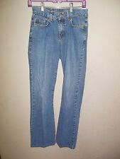 Lucky Brand Women's Blue Jeans 156 Peanut Pant Lower Rise Flare Long size 2