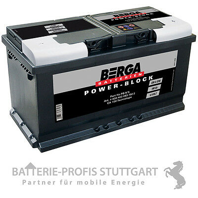 Varta Autobatterie 12V 100Ah 830A H3 ersetzt 88Ah 90Ah 95Ah