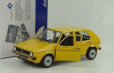 1974 Volkswagen VW Golf I L gelb 1:18 Solido S1800201