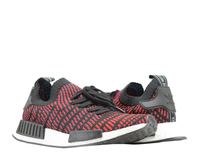 6c8699c31 Adidas NMD R1 STLT PK Primeknit Black Red Solid-Blue Men s Running Shoes  CQ2385