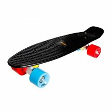 Kickboard Schwarz orange rot Penny Board ABEC7 Skateboard Kinder 100kg Retro NEU