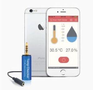 Smart Température Humidité Appareil De Mesure Pour Smartphone Ios Iphone Android-afficher Le Titre D'origine Wu0ygeaw-07155148-559216391