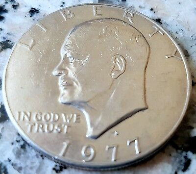 EISENHOWER 1977 VERY RARE DOLLAR COIN 34th President of the U.S.A. DWIGHT D