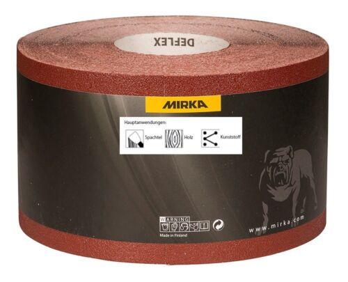 Mirka Deflex schleifrollen papier abrasif 115 mm x 50 M de grain libre au choix