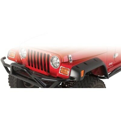 """ABS Plastic Front Driver Side Smittybilt 17190-01 Fender Flare 6/"""" Wide"""