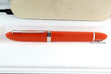 Omas 360 Hi-Tech Mezzo Orange Rollerball Pen - Extremely Rare!!