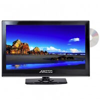 Portable 15 Hd Hi Def Tv And Dvd Player Combo With 12v Volt Car Cord