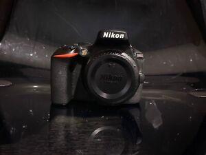 Nikon D5600 Digital SLR Camera with 18-55mm Lens - Black