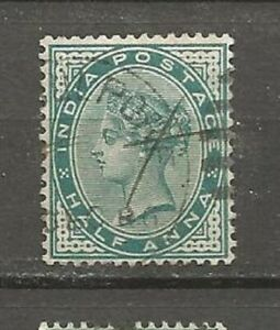 India-Postage-GREAT-BRITAIN-Reine-Victoria-old-stamps
