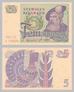 Schweden-Sweden-5-Kronor-1977-1981-p51d-unc