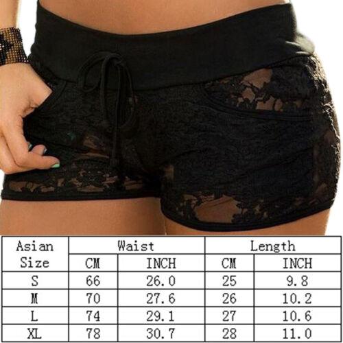 donne moda pizzo nuove fuori estivi pantaloncini scava nero 2016 Fadzy pantaloncini sexy 14wgRxwq