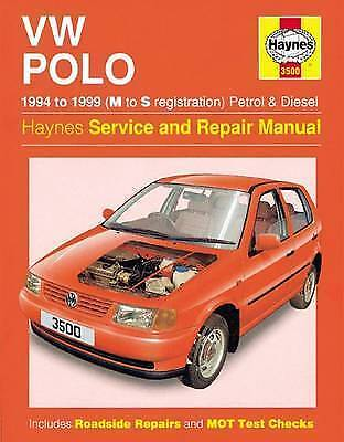 1 of 1 - Volkswagen Polo haynes manual petrol + diesel service and repair manual 1994-99