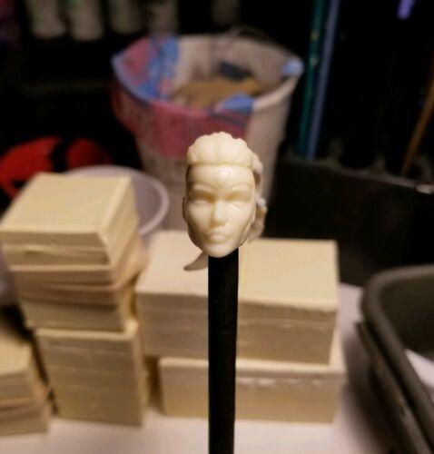 Marvel Legends Custom Jean Grey Head Cast ponytail version full set UNPAINTED.