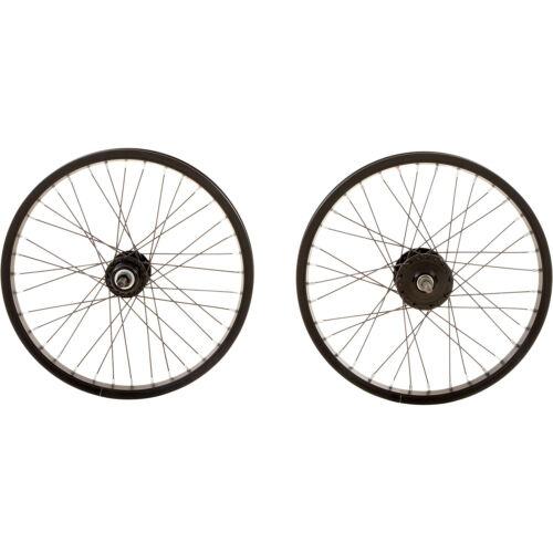 Fahrradteile & -komponenten 20 Zoll schwarz Aluminium Singlewall 36 Speichen Laufrad Fahrrad BMX 16