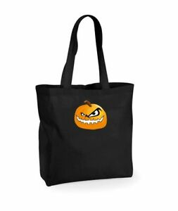 Halloween-Trick-or-Treat-GLOW-IN-THE-DARK-Tote-Bag