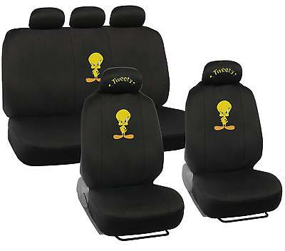 New Front Seat Covers Paramount Pictures Looney Tunes Tweety Bird Attitude