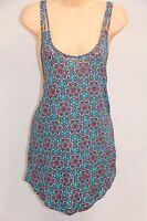 NWT Hobie Swimsuit Cover up Mini Dress Tunic Size XL MLT