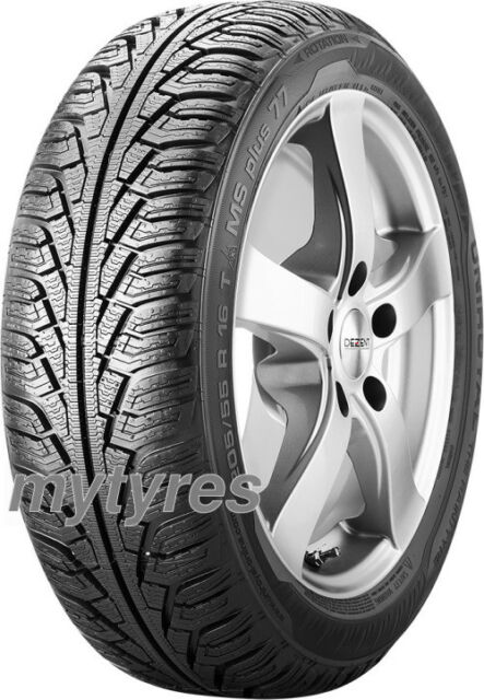 2x WINTER TYRES Uniroyal MS Plus 77 195/50 R15 82H M+S