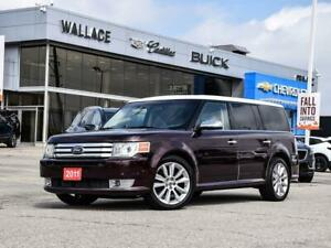 2011 Ford Flex Limited AWD w-EcoBoost SUNROOF, NAV, LEATHER