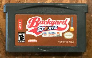 Backyard Sports: Football 2007 GameBoy Advance GBA ...
