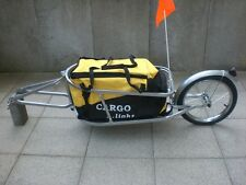 Einrad Fahrradanhänger Lastenanhänger Transportanhänger Fahrrad Stahl Rahmen