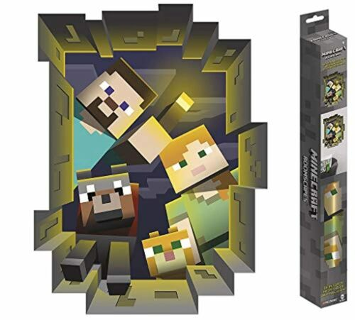 """Minecraft Caved Roomscapes Poster Decal Wall Art Sticker Home Decor 18/"""" x 24/"""""""