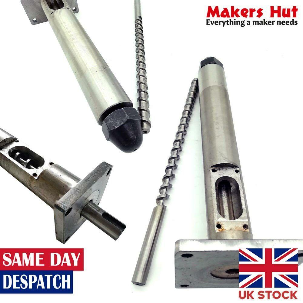 12mm Screw Size Filament Extruder Screw, Barrel and Nozzle