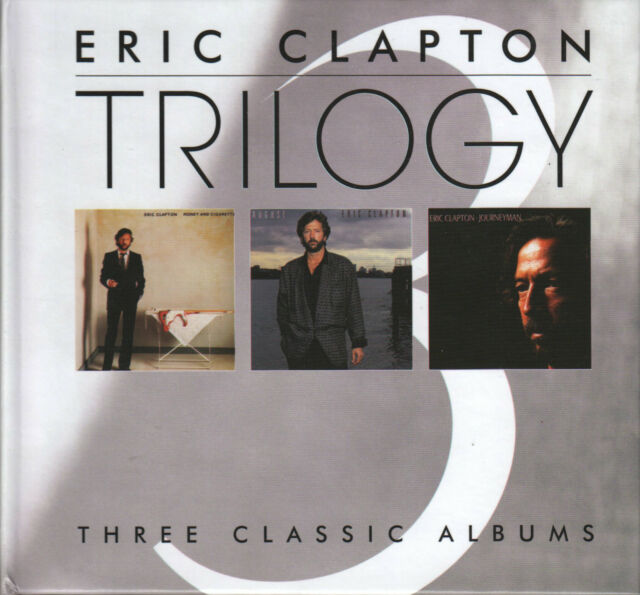 Eric Clapton   CD Box  TRILOGY   (c) 1983/86/1989