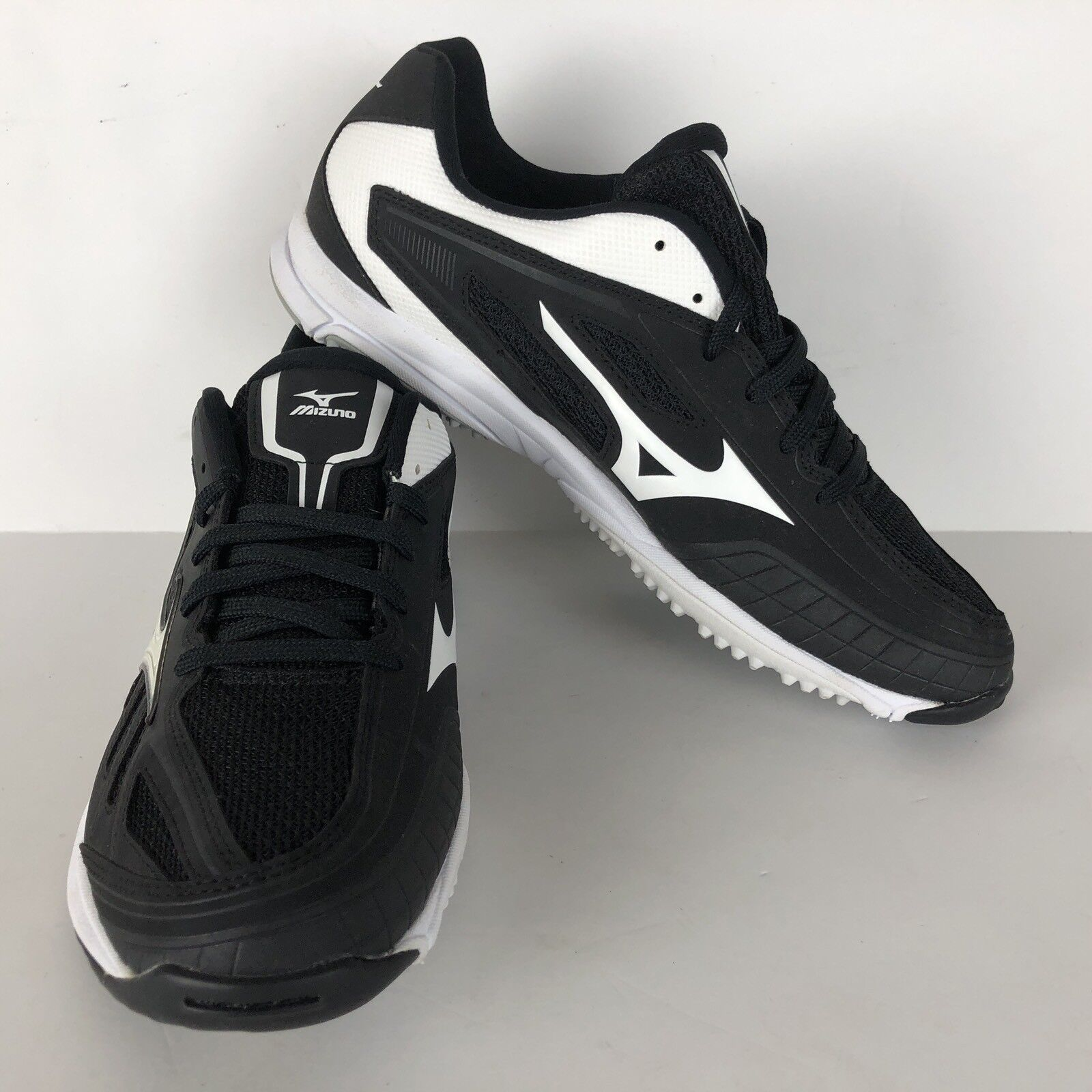 new products 7f6df 88c34 Mizuno Players Trainer Mens Baseball Training Shoes Black-wh