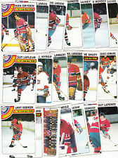 1978 Topps Team SET lot of 20 Montreal CANADIENS NM/MT LaFLEUR DRYDEN SHUTT