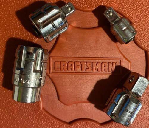New Craftsman Max Axess 4 Piece Socket Adapter Set Square And Pass Through Thru