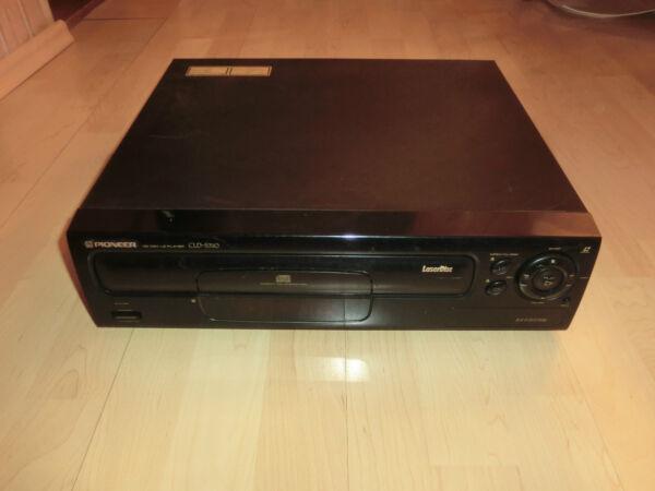 Pioneer Cld-s310 Laserdisc Player Defekt Om Jarenlange Probleemloze Service Te Garanderen