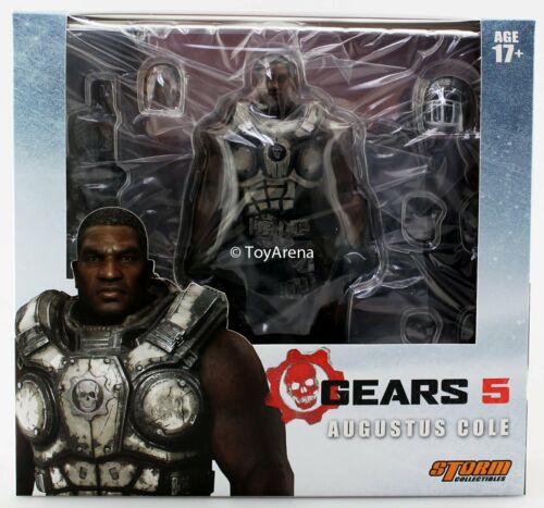 Storm Collectibles 1//12 Gears of War 5 Augustus Cole Scale Action Figure USA